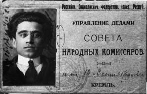 13 - Cartão de acesso ao Kremlin