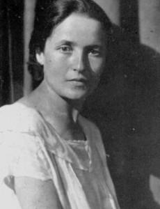 16 - Giulia Schucht, esposa de Gramsci - 1922