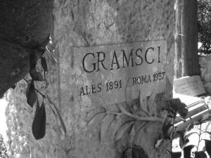 24 - Roma, túmulo de Gramsci no cemitério  acatólico